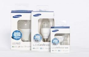 Samsung LED-Lampen (Bild: © Samsung)